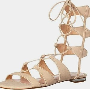 SCHUTZ leather gladiator sandals
